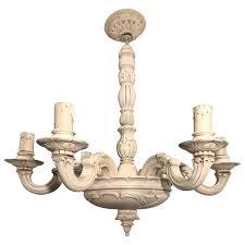 art nouveau quality carved wood chandelier pendant light chandelier 1910s