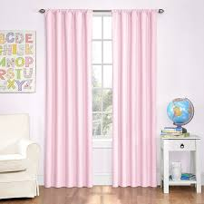Amazon.com: Eclipse Kids Microfiber Room Darkening Window Curtain Panel, 42  by 84-Inch, Pink: Home & Kitchen