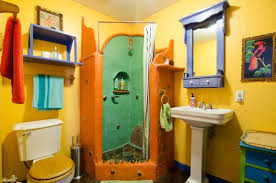 Colorful Bathrooms Inspiring Bold Colorful Bathrooms For Those Colorful Bathroom