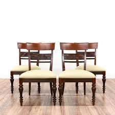 Set Of  Traditional Ethan Allen Dining Chairs More Ethan - Ethan allen dining room chairs