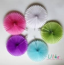 Paper Flower Designs 16 20ps Lot Free Shipping Honeycomb Flower Lantern Fan