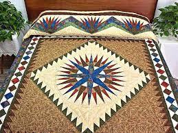 Authentic Amish Quilts Ebay Authentic Handmade Amish Quilts ... & Authentic Amish Quilts Mariners Compass Quilt Great Ably Made Amish Quilts  From Lancaster Hs4582 Authentic Amish Adamdwight.com