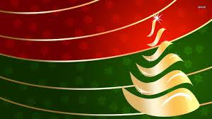 red and green christmas wallpaper. Fine Green Golden Christmas Tree Wallpaper 1366x768 Intended Red And Green Wallpaper