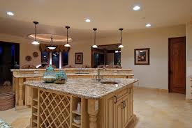 Image Of: Recessed Lighting Kitchen Layout