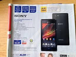 Am Montag bei ALDI Nord: Sony Xperia M ...