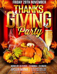 thanksgiving party flyer party flyer templates for clubs business marketing page 39 of 60
