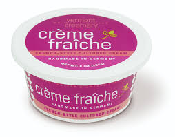 la creme fraiche in english