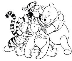 Winnie The Pooh Basketball Coloring Pages