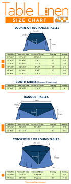 25 best ideas about tablecloth sizes on wedding table table linen size chart square rectangle circle and banquet tablecloth sizes and