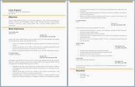 49 Unique 2 Page Resume Examples Examples Of Two Page Resumes