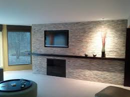Tile - Fireplace contemporary-living-room