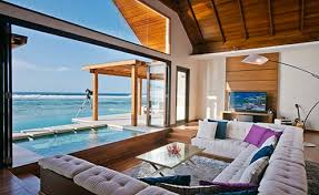 Overview - Luxury villa in Maldives with private pool surrounded by  breathtaking landscapes