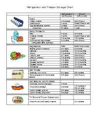 Food Storage Order Chart Clackamas County Food Handling Charts Docstoc Com Docs