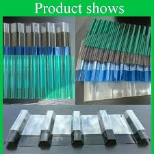 plastic roofing panels grade b clear corrugated sheet anti roof panel for greenhouse standard p