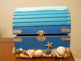 10 best wedding ideas images on pinterest wedding card boxes Wedding Card Box Ideas Beach Theme beach sand and sea shell wedding booty box (card box) wedding card box beach theme