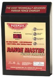 parmak fencing parker mccrory parmak rm 1 range master 100 mile ac fence charger