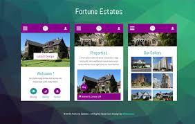 Mobile Website Templates Simple Mobile App Website Templates Designs Free