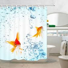 garden curtains hd goldfish and bubble