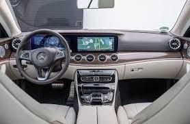 2018 mercedes benz e class sedan. fine sedan 2018 mercedesbenz eclass view of the front from second row inside mercedes benz e class sedan