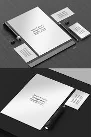 Office Stationery Design Templates 50 Free Branding Identity Stationery Psd Mockups