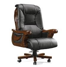 Schwarz Leder Computer Stuhl Sitzungssaal Stühle Zum Verkauf