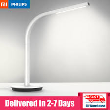 Xiaomi Mijia Philips Eyecare Smart Table Lamp 2 Dimming 4 Lighting Scenes Night Light Eye Comfort Smart App Remote Control Smart