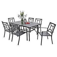 7 piece outdoor patio dining set