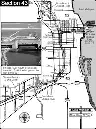 Chicago il sanitary and ship canalchicago river map chicago il