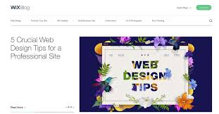 Wix Blog | Web Design & Small Business Tips To Promote Your Site