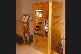 Gold To Go Vending Machine Inspiration Gold How Glorious Can It Get The Fiscal Times