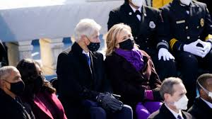 Clinton says Biden swearing-in lifted ...