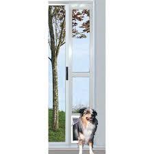 patio pet door large ideal modular aluminum patio pet door white extra large for pets to