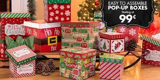 christmas gift boxes .
