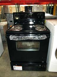 black glass top stove range repair stoves electric frigidaire cleaning gas gallery replacement portable induction r