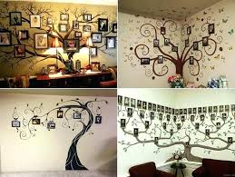 wall decoration family tree wall decor ideas room decorating fab on art