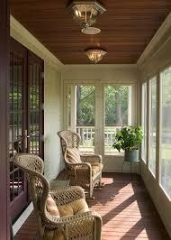 verandah lighting. Cosy Screened Verandah Lighting