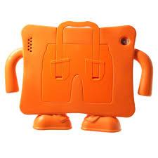 Mesh Ipad 2 3 4 Hoes Kids Cover Trouser Voor Kinderen Oranje