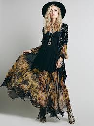 womens ball gown formal fl boho maxi chiffon l evening party dress