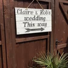 rustic handmade wedding sign rusticgems co uk