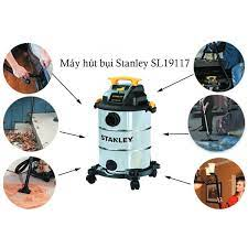 Máy hút bụi 3 chức năng Khô/Ướt/Thổi Stanley SL19117 3000W 30 lít - Hàng  chính hãng - Hút bụi công nghiệp Nhà sản xuất STANLEY