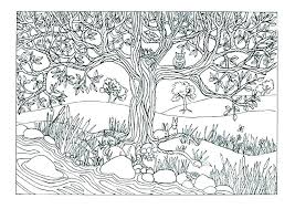 Nature Coloring Pages To Print Ocean Scene Coloring E Nature Es