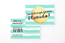 Announcement Postcards Amazon Com Moving Announcement Postcards Change Of Address Cards We