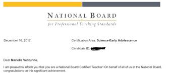 Takeaways From My National Board Certified Teacher Journey Mari