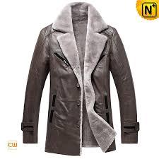 men leather shearling coats cw878249 cwmalls com