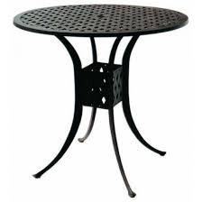 bar height patio table nassau 48 round