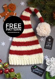 Crochet Santa Hat Pattern Custom Decoration