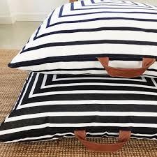 outdoor floor cushions. Square Fox Large Sunbrella Outdoor Floor Cushions Leather Handles 1 C