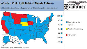 why no child left behind must be fixed in one map