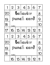 Free Punch Cards Template Reward Punch Card Template Magdalene Project Org