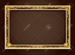 gold frame border vector. Unique Gold Gold Frameframeframe BorderPhoto Frameframe Vector Illustrationframe On Frame Border Vector G